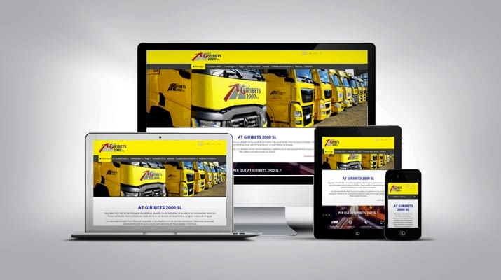 We launch the new webpage of A.T. Giribets 2000 S.L.